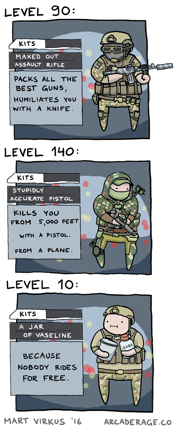 How Battlefield 4 is like these days