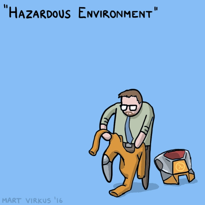 30 Days of Half Life - 02 - Hazardous Environment