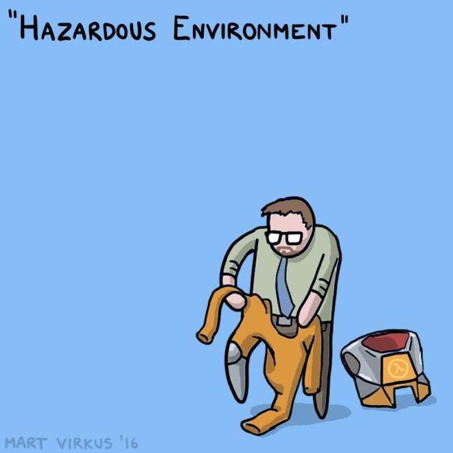 30 Days of Half Life - 02 - Hazardous Environment