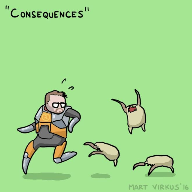 Unforeseen Consequences by Mart Virkus