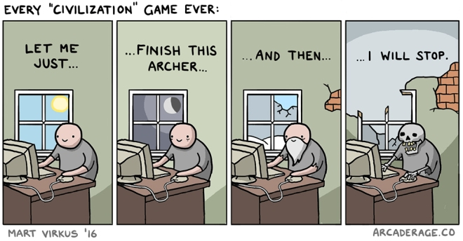 How every Civilization game ends up