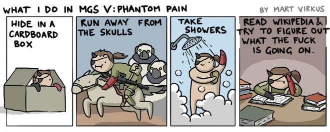 What I do in MGS V: Phantom Pain