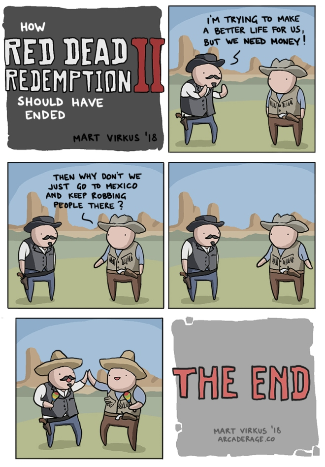 How Red Dead Redemption 2 Should have Ended