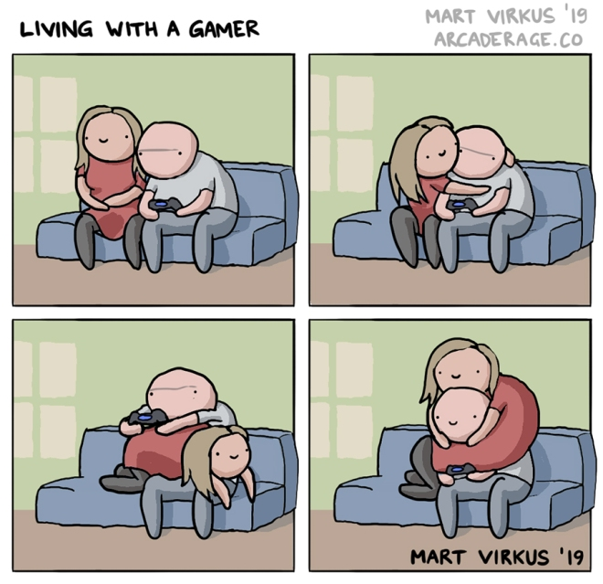 Living with a gamer - by Mart Virkus