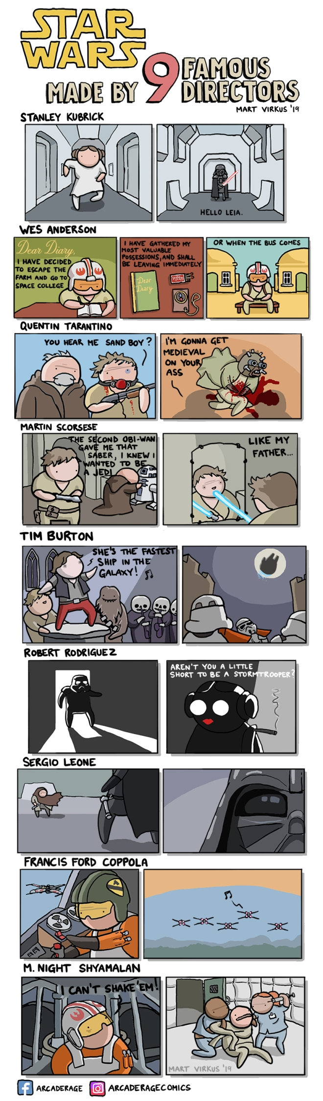 Star Wars Made By 9 Famous Directors